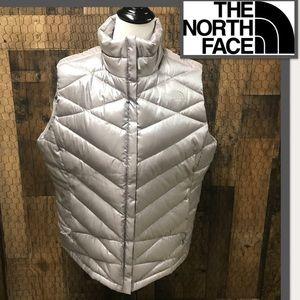 The North Face Silver Down Vest Women's XXL